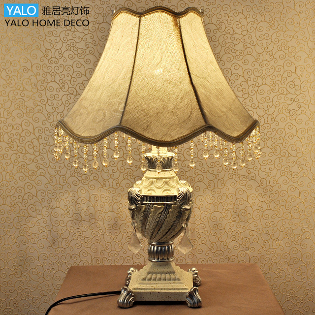Old fashion european table lamp holiday lighting bedroom luxury old fashion european table lamp holiday lighting bedroom luxury garden wedding celebration decorative gift for aloadofball Images