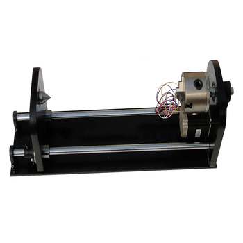 cloudray auto focus focusing sensor z axis for automatic motorized up down table co2 laser engraving cutting machine 3 claws Rotary axis 4th axis CO2 laser engraving cutting machine in laser roller axis or chuck Irregular rotary