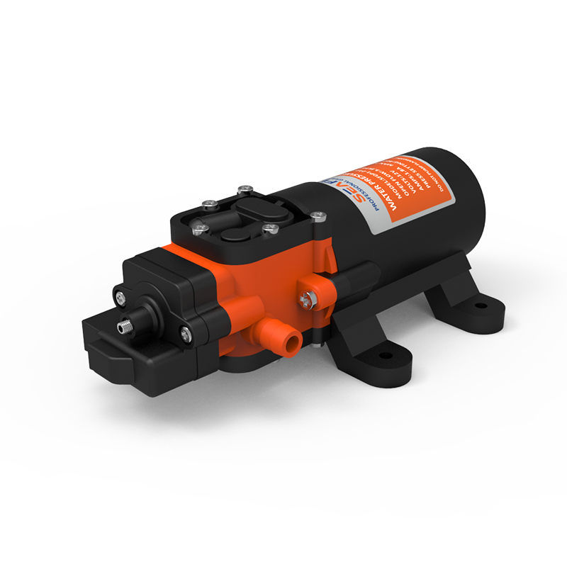 SEAFLO Marine Water Diaphragm Pump 1.1GPM 70PSI High Pressure 12 Volt Electric Motor For Caravan RV Agricultural