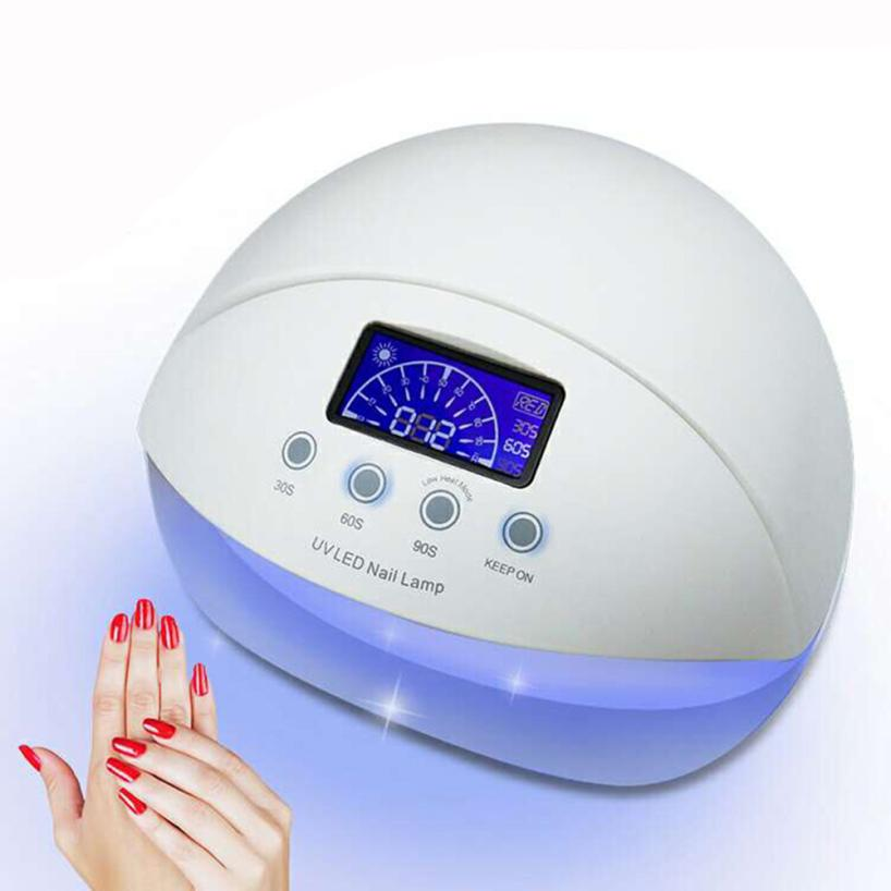 50W LED UV Nail Lamp Nail Dryer Automatic Sensor Nail Art Gel Polish Curing Machine 3 Timer Setting EU Plug 5M121450W LED UV Nail Lamp Nail Dryer Automatic Sensor Nail Art Gel Polish Curing Machine 3 Timer Setting EU Plug 5M1214