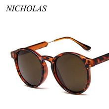 NICHOLAS Retro Round Sunglasses