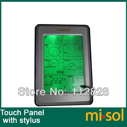misol / Professional Wireless Weather Station Jutiklinis skydelis su - Matavimo prietaisai - Nuotrauka 2