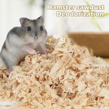 Desodorante de mascota hámster, aserrín de madera Natural de 500g, esterilla para quitar el polvo del olor, aserrín caliente, sabor a conejos, ardillas de Chinchillas