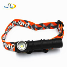 USB LED flashlights XML T6 Multifunctional 1000 lumens Clip lamp telescopic Focusing lamp Internal battery Camping lamp sitemap 19 xml