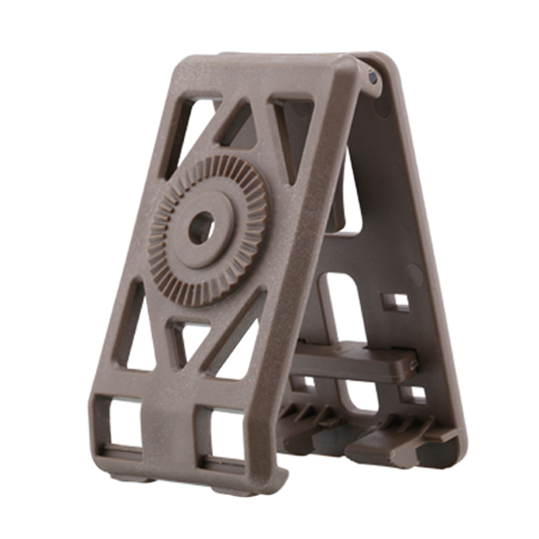 Amomax Tactical Hard Shell Belt Clip Compatible with All Amomax Holsters Magazine Pouches   FDE Color|Holsters| |  - title=