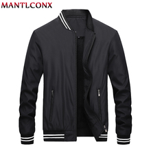 MANTLCONX Winter Men Jacket 2019 Brand Casual Mens Jackets and Coats Thick Outwear Baseball Male Clothing