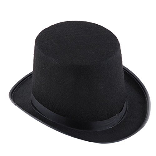 TKOH Magician Black Hat Halloween Hat Jazz Hat black for kids children 990cf85488e