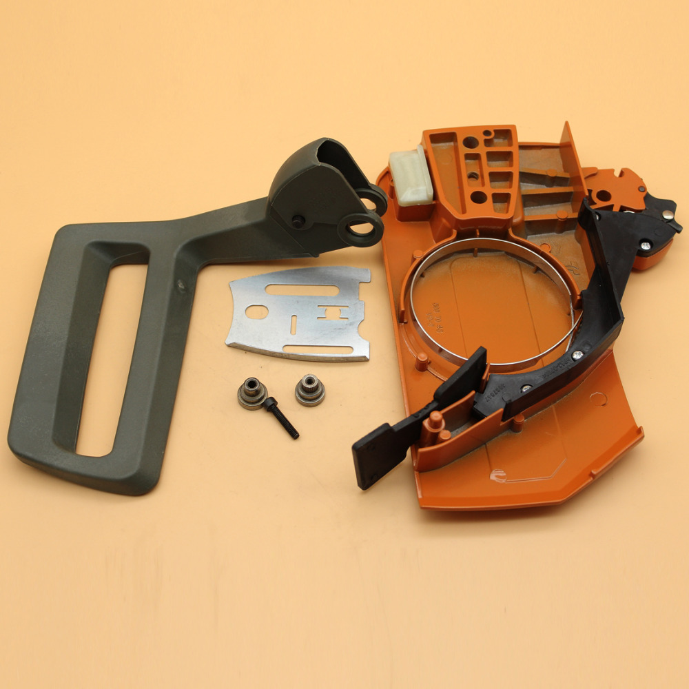 Chain Brake Clutch Cover Handle Guard Assembly Kit Fit HUSQVARNA 61 66 266 268 272 272XP Chainsaw Spare Parts 503727401Chain Brake Clutch Cover Handle Guard Assembly Kit Fit HUSQVARNA 61 66 266 268 272 272XP Chainsaw Spare Parts 503727401