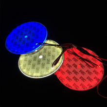 3 Colors Insignia LED 5D Logo Light For Volkswagen VW Passat CC Scirocco Golf 4 MK4