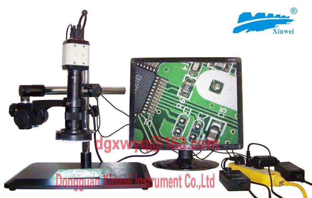 Универсальный видеомикроскоп с два миллиона Пиксели/Поддержка VGA и USB Выход в то же время!