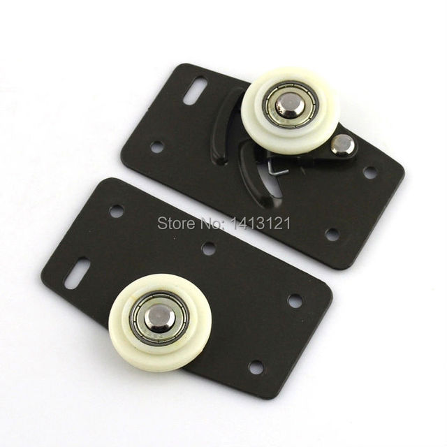 free shipping furniture caster Positioning pulley sheave nylon pulley closet drawer filing cabinets pulley sliding door wheel