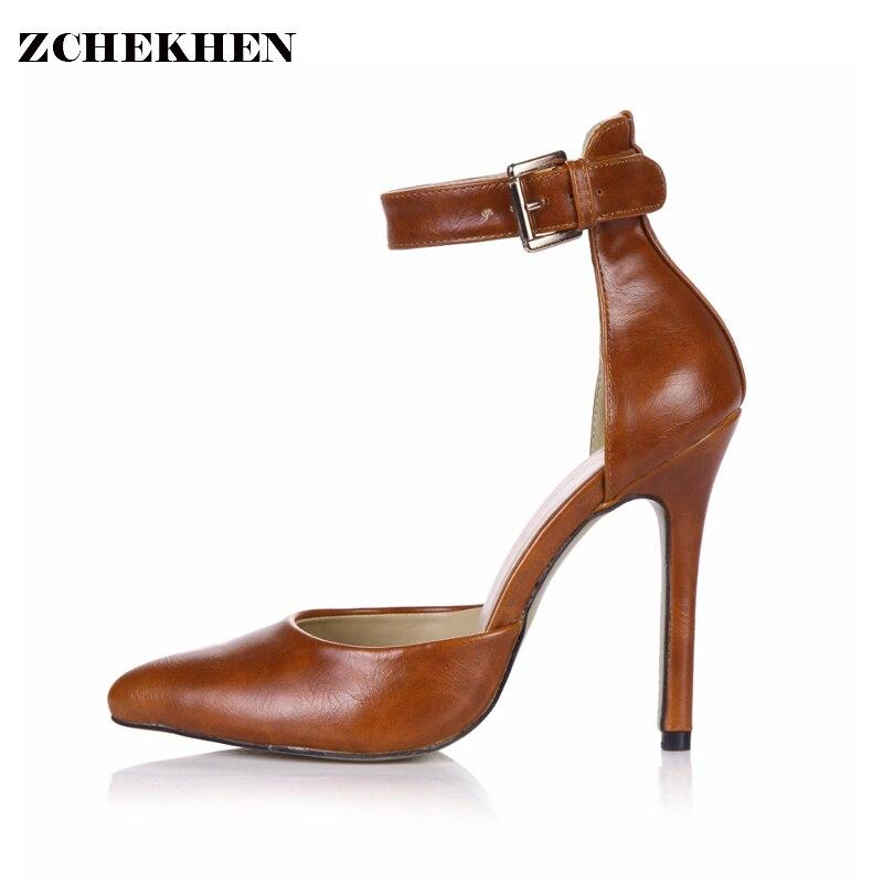 Paris Fashion 2018 Spring Ankle Boots Summer Party Wedding Pumps Women Stilettos thin High Heel Shoes Street wear 0640-8a