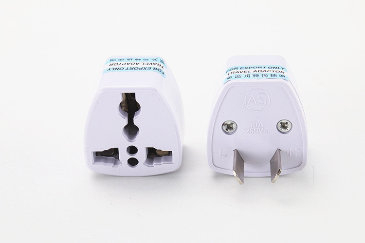 US UK AU EU Plug Travel Wall AC Power Charger Outlet Adapter Converter 2 Round Pin Socket