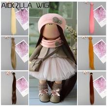 1pcs 30cm*100CM Hair Extensions Long Straight Hair Piece for BJD/SD/Blyth/American Dolls DIY Doll Wig Doll Accessories цена 2017