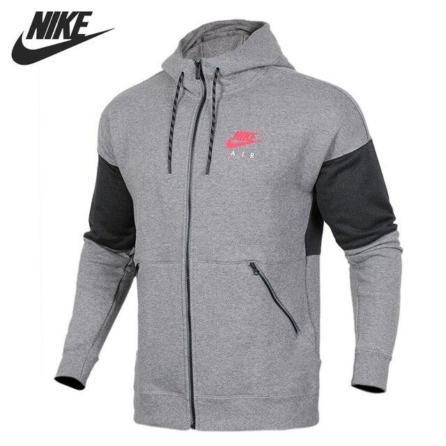 398c9905fe3 FZ Original Novo NIKE Chegada MOLETOM COM CAPUZ Jaqueta Com Capuz  Sportswear dos homens do AR