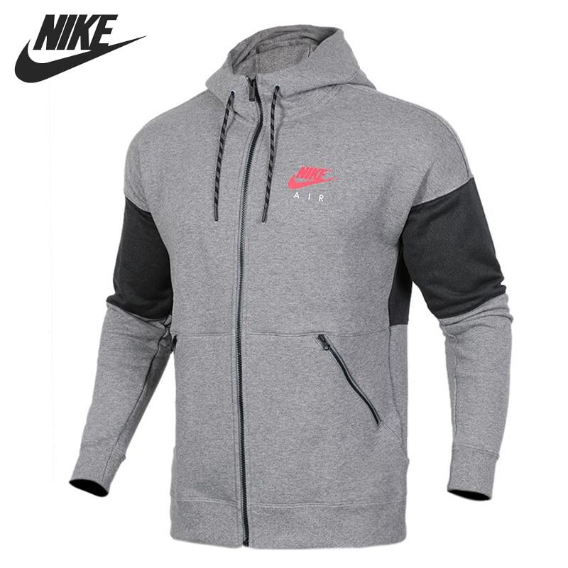 Original New Arrival 2017 NIKE HOODIE FZ AIR Men's Jacket Hooded Sportswear original new arrival 2017 nike men s jacket hooded sportswear