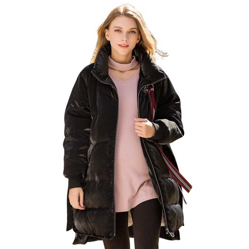 Loveincolors Maternity Women Down Coat Thick Soft Warm Winter Fashion Pregnant Clothes Stand Collar loveincolors new fashion pregnancy women