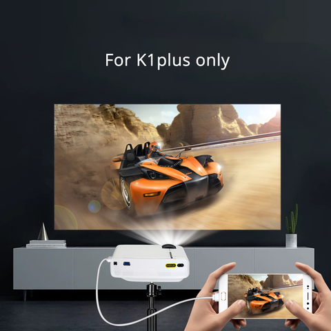 BYINTEK SKY K1/K1plus LED Portable Home Theater HD Mini Projector(Optional Wired Sync Display For Iphone Ipad Phone Tablet) Islamabad