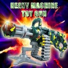 Electric Soft bullets font b Toy b font Gun Camouflage Gatlin Airsoft Air Guns Christmas Gift