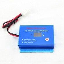Akumulator samochodowy konserwator odsiarczający regenerator do 12V 24V 36V 48V 60V 72V akumulatory kwasowo ołowiowe z kablami do szybkiego rozłączenia