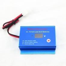 Regenerador de desulfador de mantenimiento de batería de coche, 12V, 24V, 36V, 48V, 60V, 72V, baterías de plomo y ácido con cables de desconexión rápida