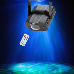 AC100-240V 11 Вт RGBW сценический светодио дный свет LED Par пульт дистанционного управления водный пульсационный эффект сценическое освещение диско