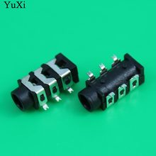 Yuxi 3.5 Mm Female Audio Konektor 6 Pin SMT SMD Headphone Jack Socket PJ-313D(China)