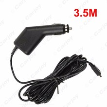 3.5M Car Charger Auto Video Recorder USB Charger General GPS Navigator Power Cord  #CA5492