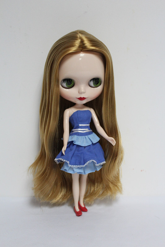Free Shipping big discount RBL-30DIY Nude Blyth doll birthday gift for girl 4 colour big eyes dolls with beautiful Hair cute toy free shipping big discount rbl 11 15 diy nude blyth doll birthday gift for girl 4 colour big eyes with beautiful hair cute toy