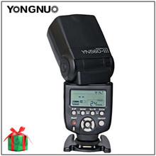 цена на Yongnuo YN-560 III YN560III YN560 III Manual Speedlite Flash Light For Canon Nikon Pentax Panasonic DSLR Cameras