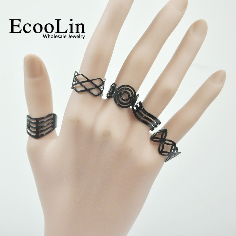 1d9403581 20Pcs Vintage Black Alloy Gypsy Adjustable Finger Tattoo Rings Toe Ring Lots  For Women Men Mix Style Jewelry BK4010-in Rings from Jewelry & Accessories  on ...