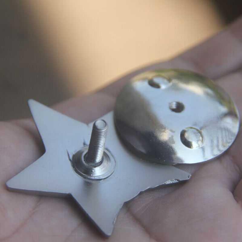 オリジナルソビエト赤スタービッグメダルソビエト共産バッジエンブレムラペル剣シールド径 50 ミリメートル