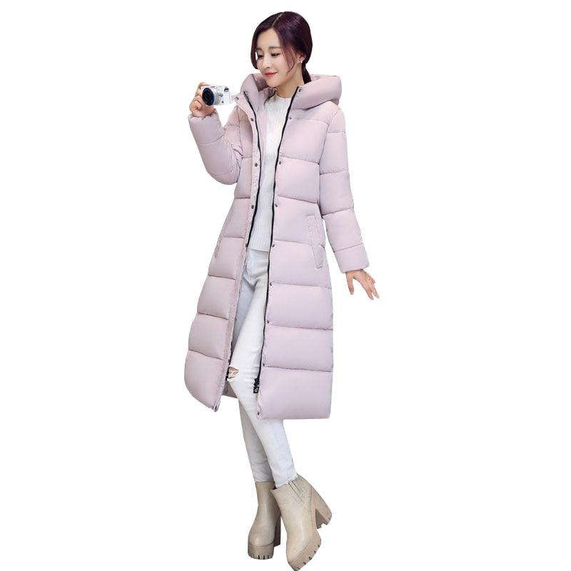 Con Plus Tamaño gray Presagio pink Abrigo Chaquetas Invierno Mujer De Abajo Espesar Chaqueta Abrigos Capucha Negro red Parka Mujeres Las 1ROqwYBR