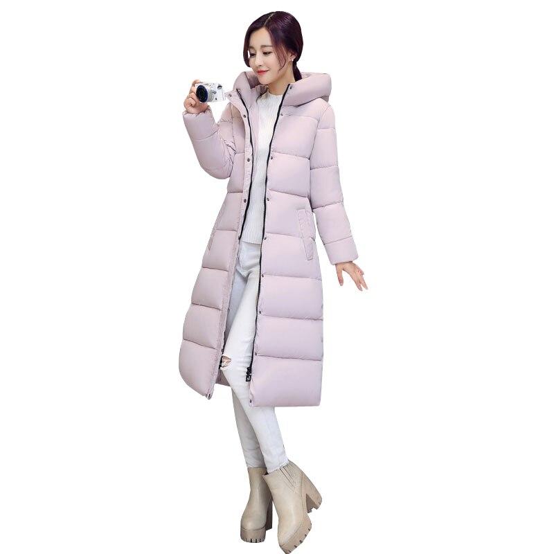 Winter Women   Down   Jacket Thicken Plus size Long   Down     Coat   omen   Down     Coats   Jackets Warm Women   Down   Parka Hooded Female Overcoat