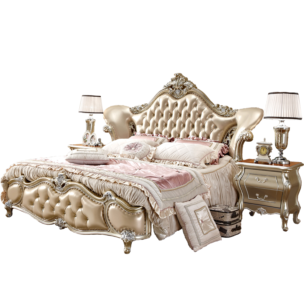 US $1476.0 |Antique Luxury Royal King Bedroom Furniture Set-in Bedroom Sets  from Furniture on AliExpress - 11.11_Double 11_Singles\' Day