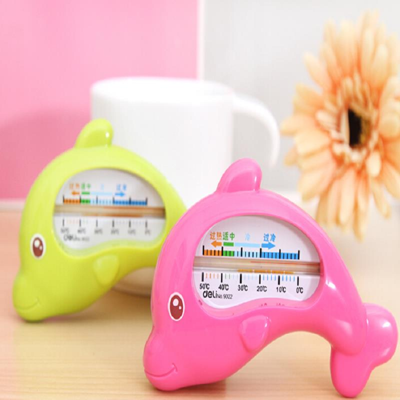 1Pcs Bath Water Thermometer For Baby Newborns A Child Bathing Dolphin-Type Safety Shower Thermometer Random Colors