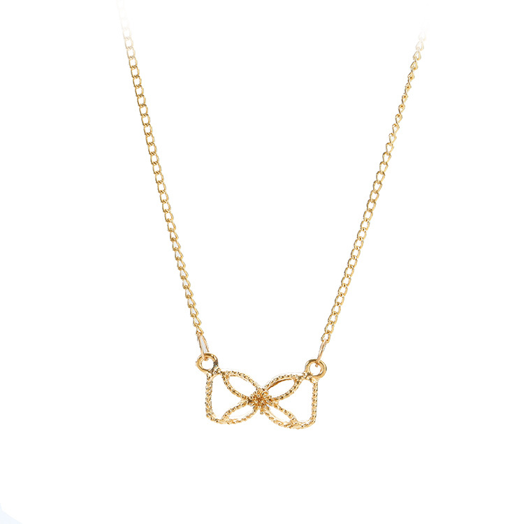 Necklace for women short chain bow star pendant necklace gift boho drop shopping N03