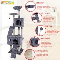 New Cat Tree Domestic Delivery Cat Climb Frame Cat Furniture Scratchers Pet Tree House Pet Supplies