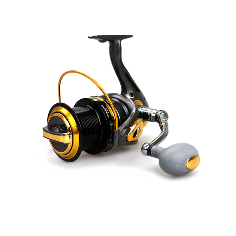 New Big Size Surf Casting Reel Long Shot Wheel Distant Wheel Spinning Reels Sea Fishing 13 Bearing 8000/9000 new type superior metal arm 13 1bb 4000 7000 series surf spinning fishing reels big long shot casting fly sea wire cup wheels