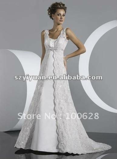 2012 designer lace jacket overlay bridal wedding dress-in Wedding ...