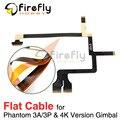 Phantom 3A/3 P/4 K Versão Cardan Flat Cable Reparação Use Arame Liso para DJI Fantasma 3 Profissional avançado 4 K Partes Do Cardan