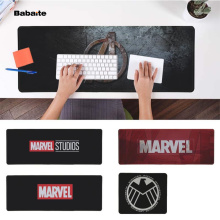 Babaite Cool New Marvel Comics logo Office Mice Gamer Soft Mouse Pad Free Shipping Large Keyboards Mat