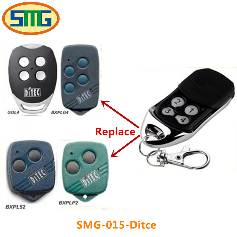 1X free shipping DITEC Garage Door Remote Control GOL4 / BIXLG4 Garage Door Openers Rolling Code Hot sale 800n automatic garage door machine chain door closer made in china garage door motor free gift of 3 meter track