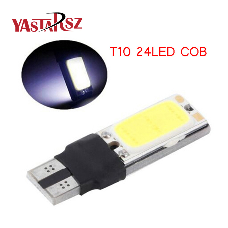 1x High power t10 w5w led cob car led t10 5w5 12v t 10 bule white car light fog Lamp interior light w5w t10 canbus error free high quality 1x t10 9smd 5050 canbus 9 smd dc 12v error free 9led 194 168 192 w5w car led light interior bulbs wedge lamp white