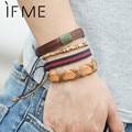 2016 New Hand Made Multi-layer Leather Bracelet Folk-Custom Men Jewelry Fashion Charm Retro Aliexpress Bohemian Wholesale
