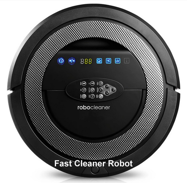 TOP-Grade 6in1 Multifunctional Robot vacuum cleaner QQ5,never touch charge base,Rechargeable Sonic wall,auto-checking of problem