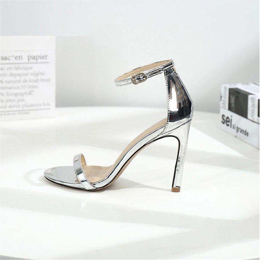 2019 summer new women sandals sexy nightclub high heels Shoes Women Open Toe 8cm High Heels Party women 39 s shoes