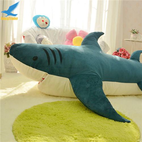 Fancytrader Huge Giant Shark Sleeping Bag Beanbag Sofa Bed Carpet Tatami Plush Stuffed 2 Colors FT90358 (10)