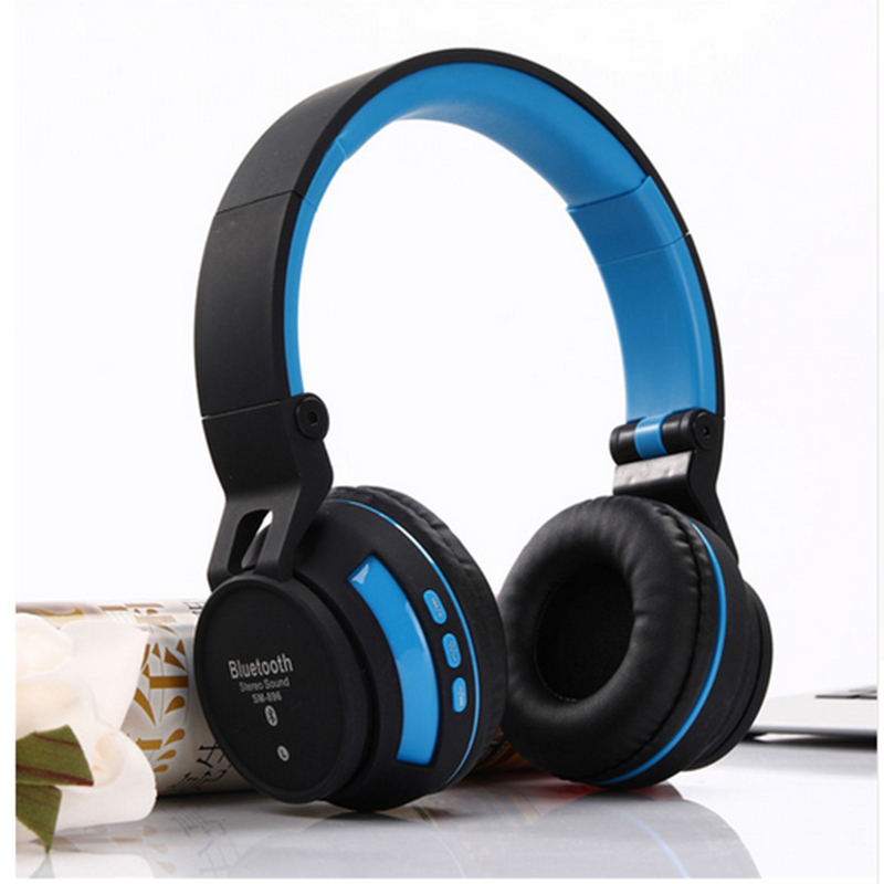 SM-896 Wireless Headphones Bluetooth Headsets With MIC Smart Headphone Support TF Card