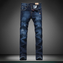 16 new straight hole boy jeans trousers designer Brand pants fear of god man s jeans